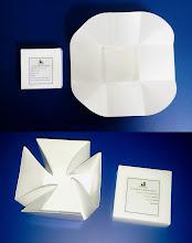 Photo: Caixinha Folder. Fazer a impressão da mensagem e arte dentro da caixa.