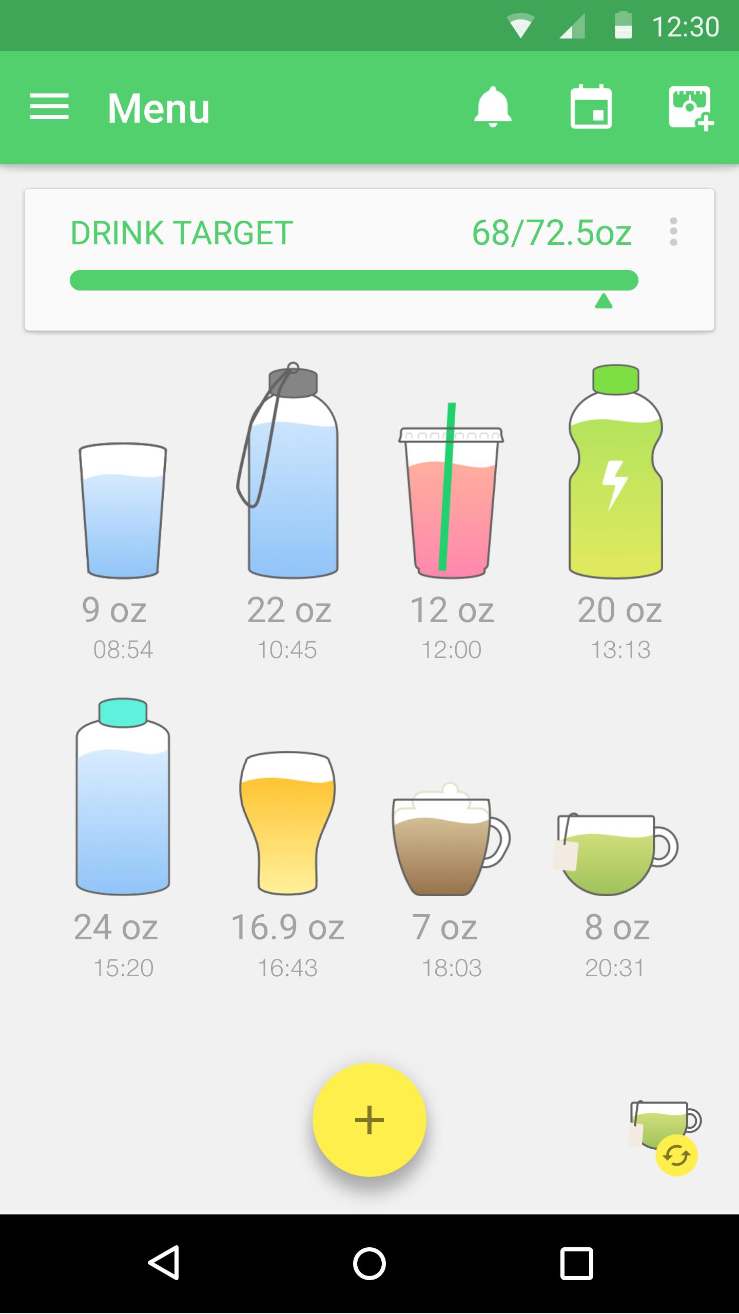Water Drink Reminder screenshot #8