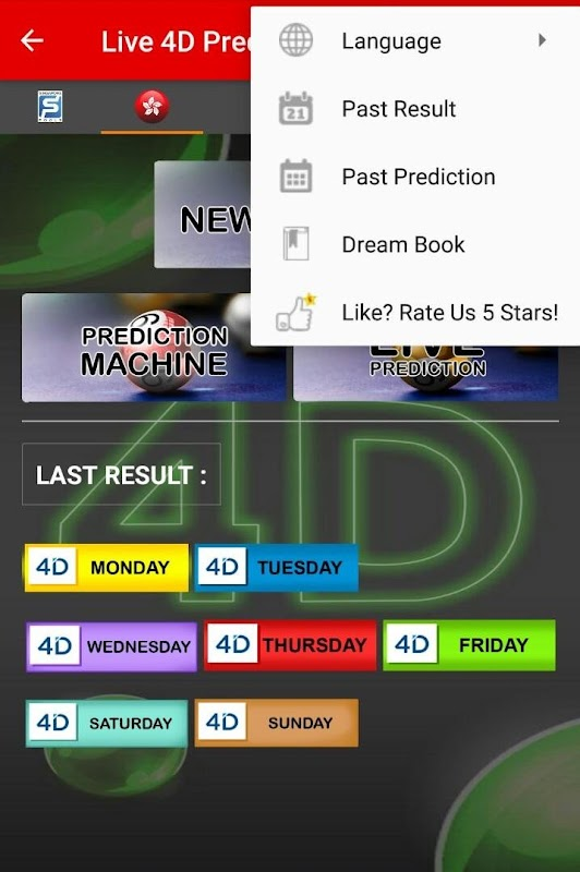 Download Live 4D Prediction ! ( SG & HKG) APK latest version by