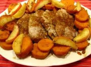 Sweet Pork Chop or Loin Casserole