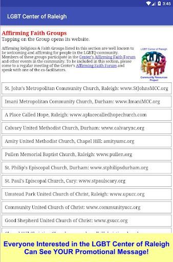 玩免費遊戲APP|下載LGBT Center of Raleigh app不用錢|硬是要APP