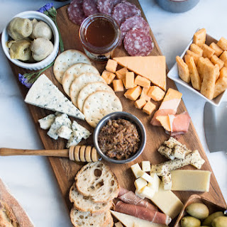 Savory Three Cheese Crackers + A Cheese Board Primer