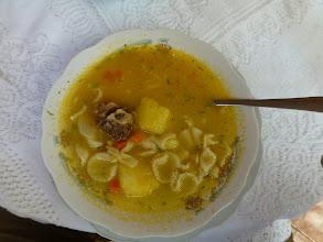 Photo: A local soup, delicious
