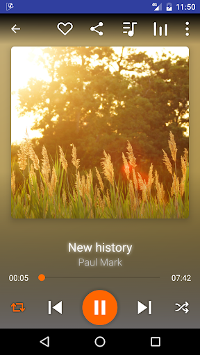 Music Player HD+ Equalizer 1.5.4 screenshots 1