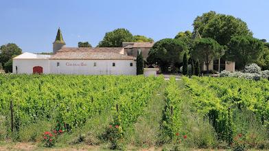 Photo: Château Bas . AOC Coteaux d'Aix en Provence . Vernegue . Bouches Du Rhône .