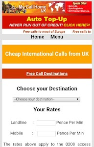 MyCallHome screenshot 6