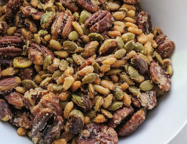 Spicy Pistachio, Nut & Seed Mix Recipe