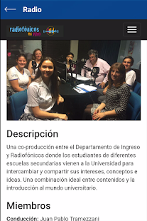 UCA - Departamento de Ingreso- screenshot thumbnail