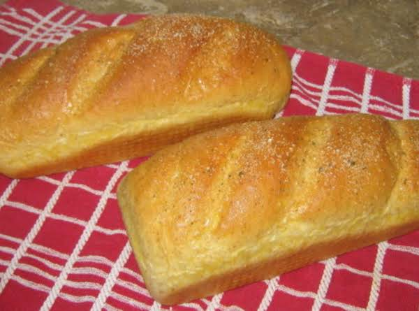 French Bread (for Bread Machine)