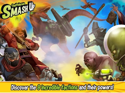 Smash Up - conquer the bases with your factions- screenshot thumbnail