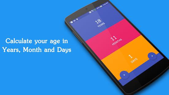 Age Calculator Plus screenshot