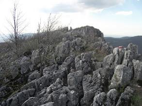 Photo: Raspuklo kamenje na grebenu