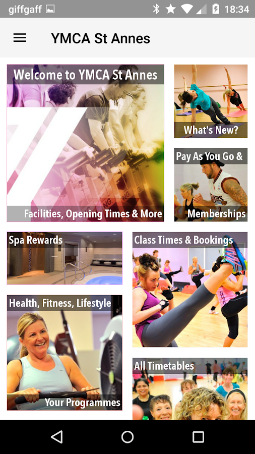 YMCA Y:Active Lifestyles- screenshot