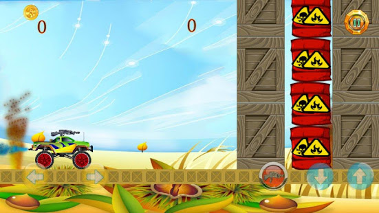 Download Monster Truck Machine Gun! For PC Windows and Mac apk screenshot 3