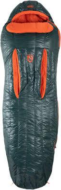 NEMO Riff 15 Men's Sleeping Bag - 800 Fill, Long, Ember Red/Deep Water alternate image 4