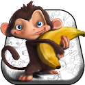 Monkey & Banana Live Wallpaper icon