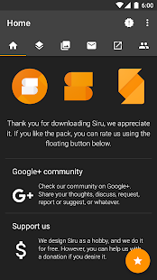 Siru - Icon Pack Screenshot