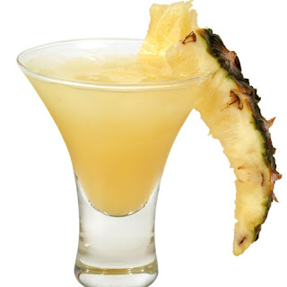 Pina Colada Cocktail Drink.