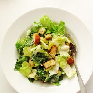 Parmesan Caesar Salad Dressing