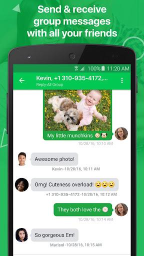 textPlus: Free Text & Calls 7.6.8 Screenshots 13