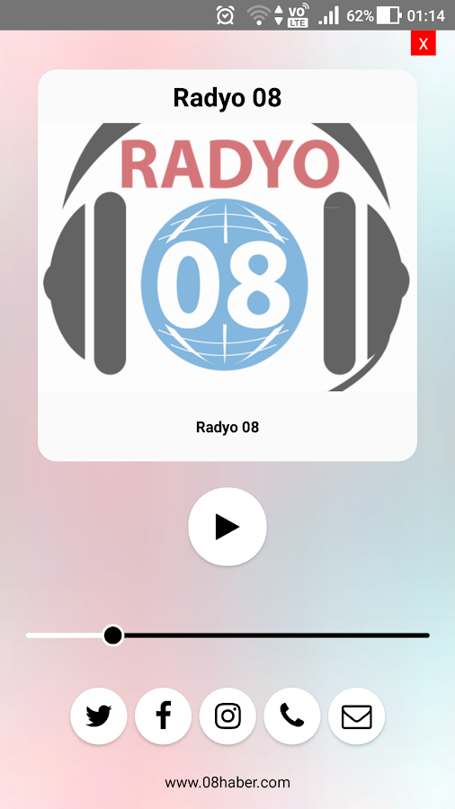 Radyo 08- screenshot
