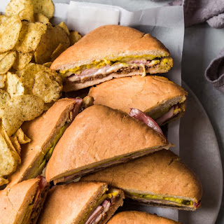 Sheet Pan Cubano Sandwich.