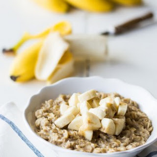 Banana Pudding Oatmeal