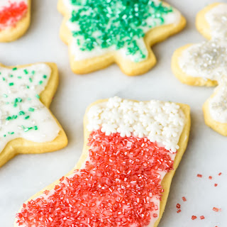 Soft Cream Cheese Sugar Cookies with Perfect Frosting.