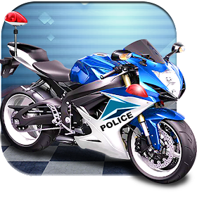 3D полиции Мотоцикл гонки 2016