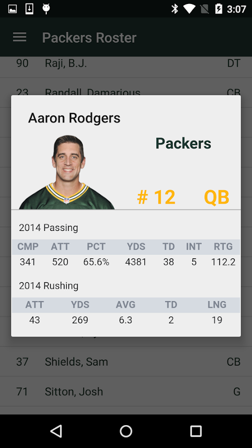 Football News - Packers- screenshot
