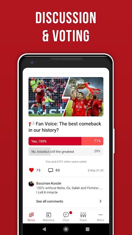 Reds Live – Unofficial app with Scores & News – (Android تطبيقات
