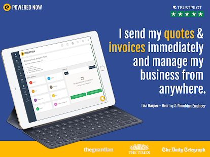 Powered Now: Affordable Invoice & Quoting Software – Apps bei Google ...