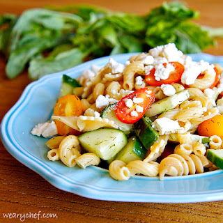 Quick Pasta Salad No Mayo Recipes