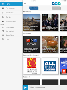 MPB Public Media App- screenshot thumbnail
