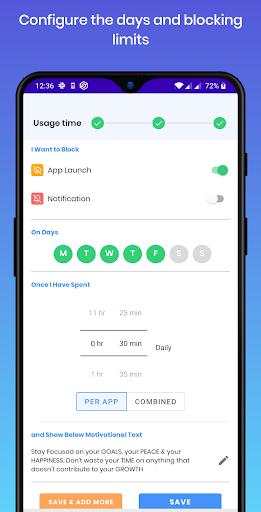 Stay Focused - App Block & Website Block 5.0.6 screenshots 5