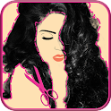 Hairstyle Try on Image Editor icon
