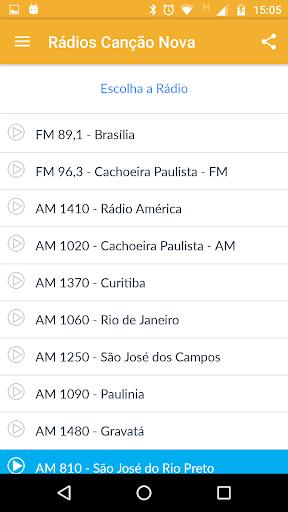 Rádio Canção Nova 3.5.1 screenshots 4