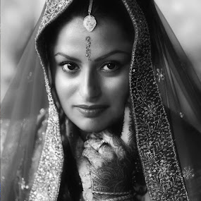 Henna by Cathy Evans - People Portraits of Women ( henna, woman, indian )