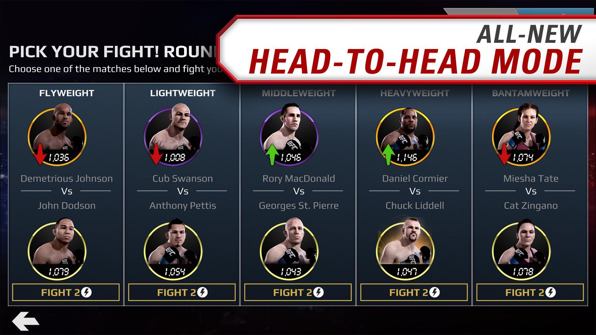 EA SPORTS UFC® screenshot #5
