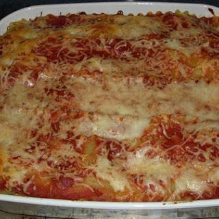Mrs. M's Easy Lasagna