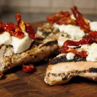 Sun-dried Tomato And Goat Cheese Grilled Chicken