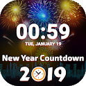 Christmas New Year Countdown 2019 icon