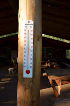 Photo: 3 Grad am Morgen am Ancient Voices Wilderness Camp