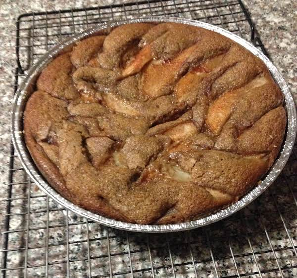 Pear Cinnamon-sugar Cake Recipe