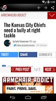 Screenshot of Kansas City Football News