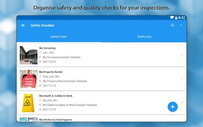 OnSite Checklist - Quality & Safety Inspector APK screenshot thumbnail 9
