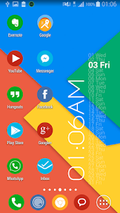 Flat Round Icon Pack Material - screenshot