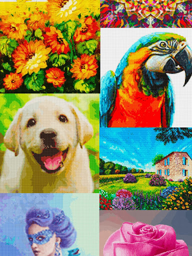 Color by Letter : Cross Stitch Joy 1.0.2 screenshots 14