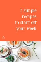 7 Simple Recipes - Pinterest Pin item