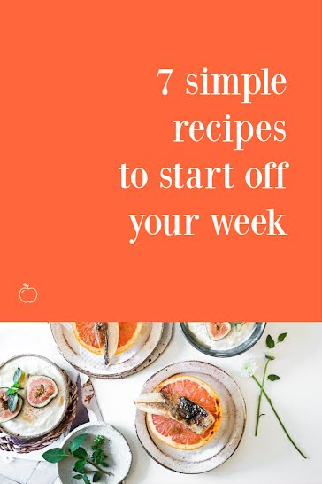7 Simple Recipes - Pinterest Pin Template
